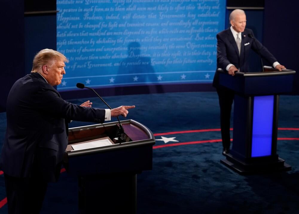 Donald Trump y Joe Biden. Foto: AFP