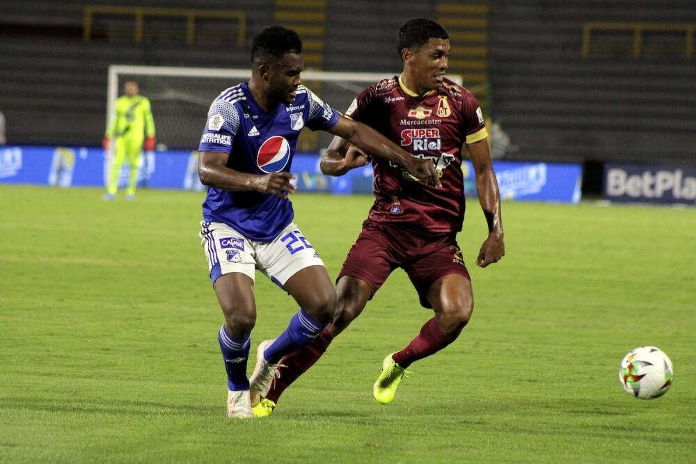 Deportes Tolima Millonarios Foto Dimayor.