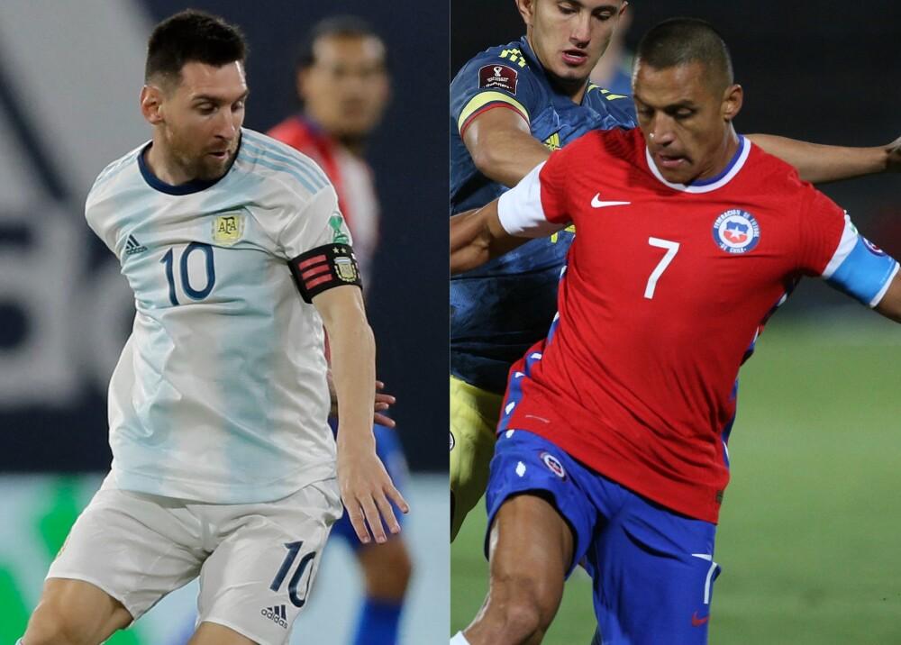 Selección Argentina y Chile referencia Foto AFP.jpg
