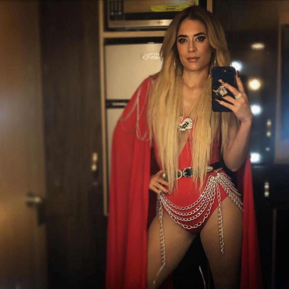 Carolina Ramírez sorprendió con video de La Reina del Flow en su cuenta de Instagram.