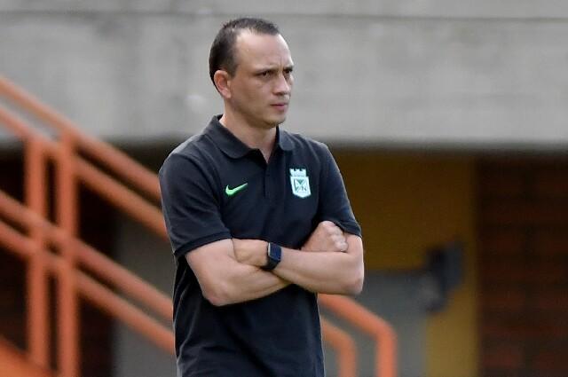 Alejandro Restrepo, director técnico de Atlético Nacional