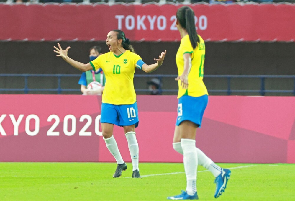 Selección de Brasil femenina - Martha