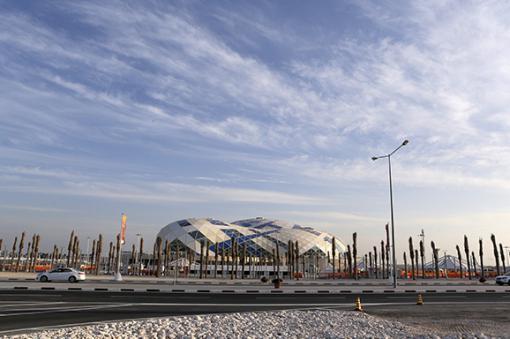 26919_Construcción de estadios en Catar – Foto: AFP