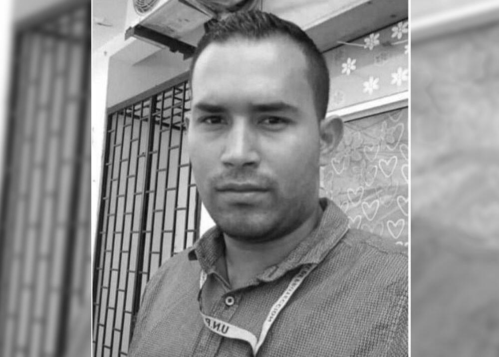 Luis Fernando Sánchez escolta de la UNP asesinado en Arauca.jpg