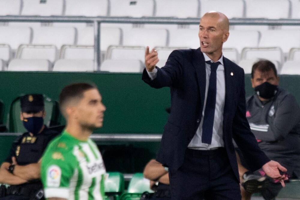 Zinedine Zidane Real Madrid Betis 260920 AFP E.jpg