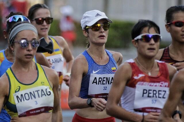 Sandra Lorena Arenas, en Juegos Olímpicos de Tokio 2020