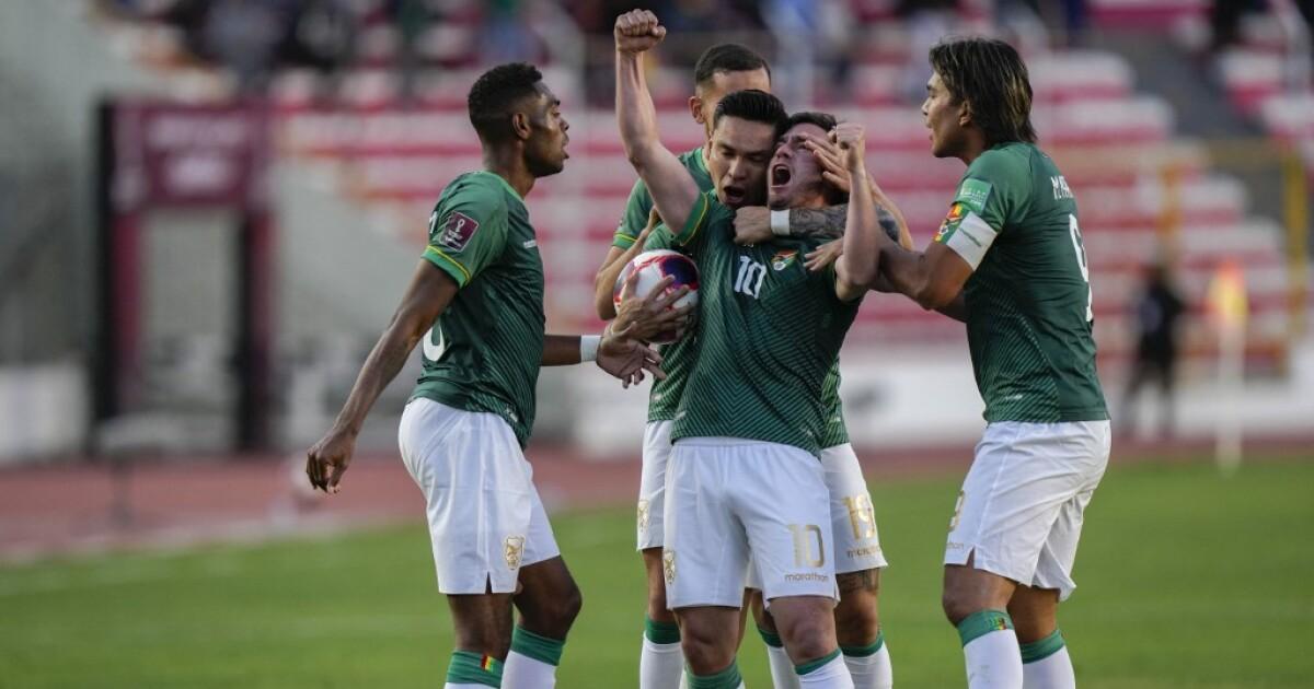 Vea el gol de Fernando Saucedo hoy, Bolivia vs Colombia, por Eliminatorias Sudamericanas