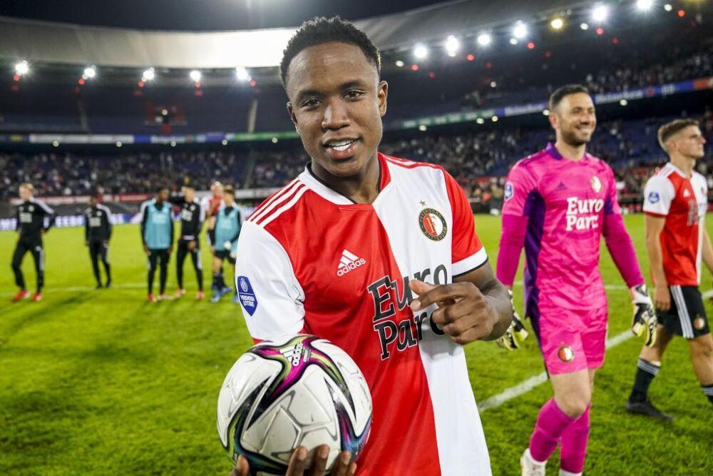 "UEFA Europa Conference League play-offs""Feyenoord Rotterdam v IF Elfsborg"""