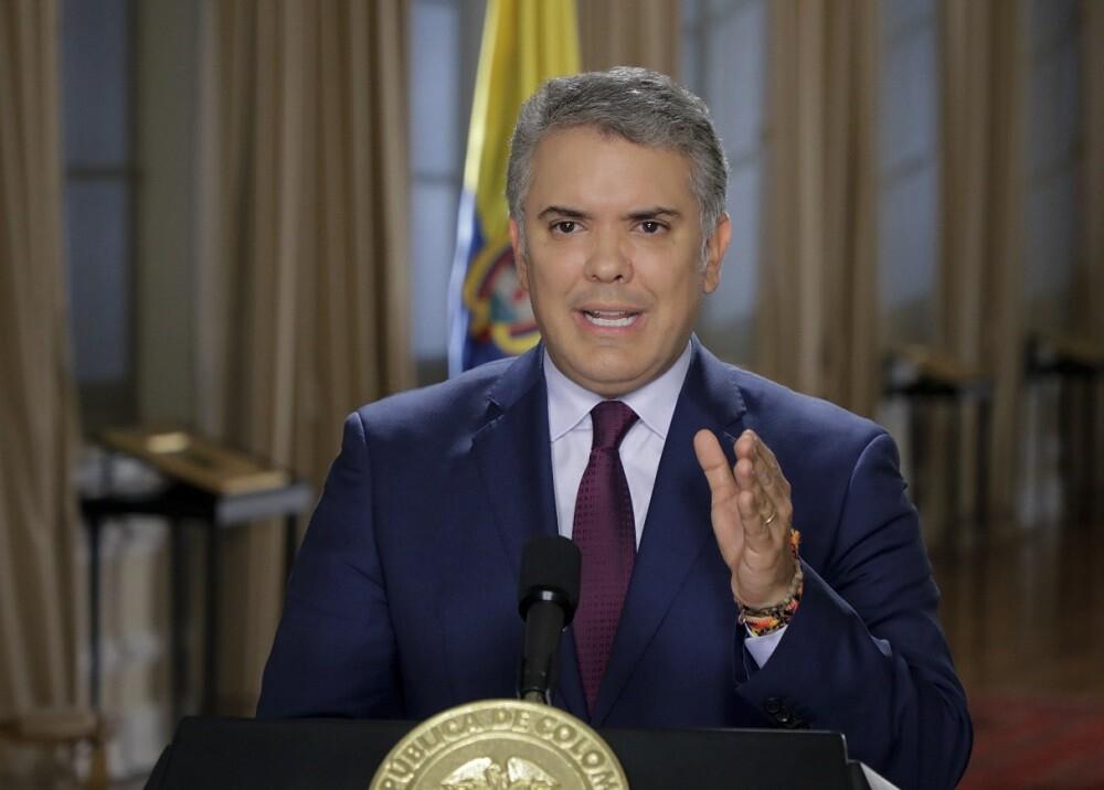 334956_BLU Radio. Iván Duque // Foto: AFP / Presidencia Colombia