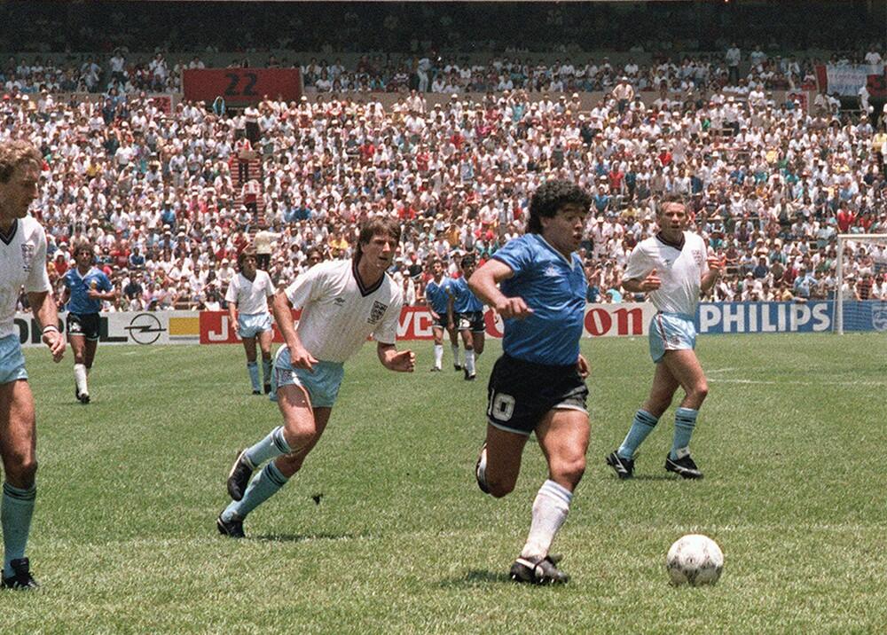 285233_Blu Radio. Maradona. Foto: AFP