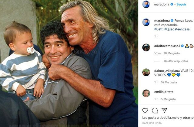 333580_Diego Maradona con Hugo Gatti