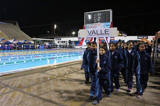 Con más de mil deportistas inició el Torneo de Natación Ciudad de Cali