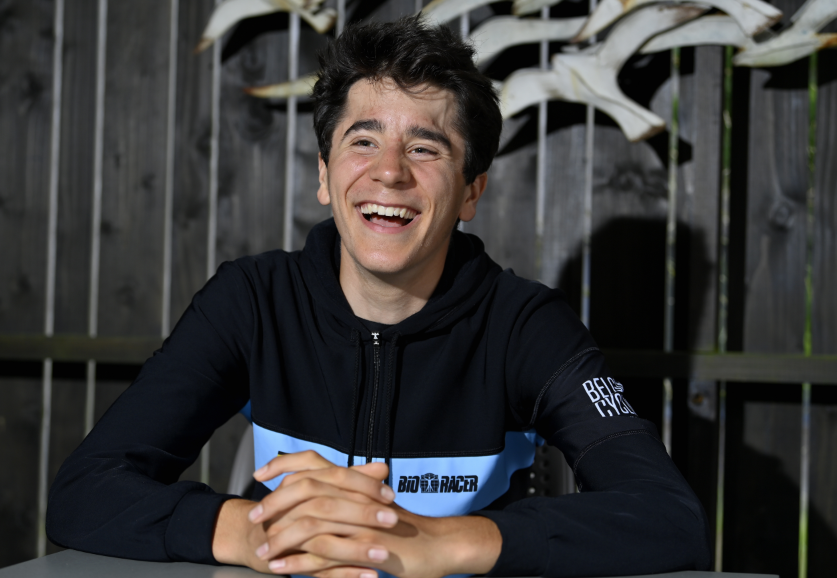 Cian Uijtdebroeks, ciclista belga.