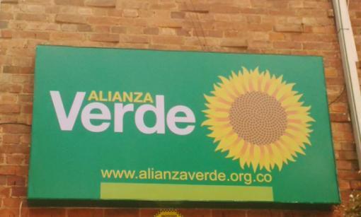 10306_BLU Radio, logo Alianza Verde / foto: Blu Radio