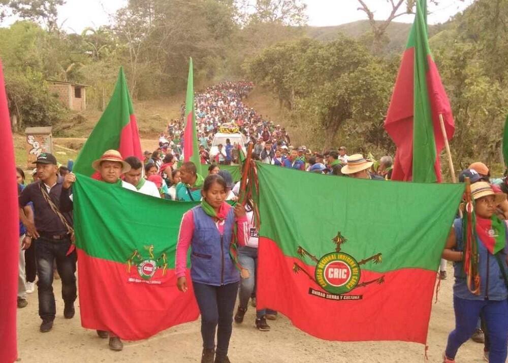 341363_BLU Radio. Indígenas del Cauca / Foto: CRIC
