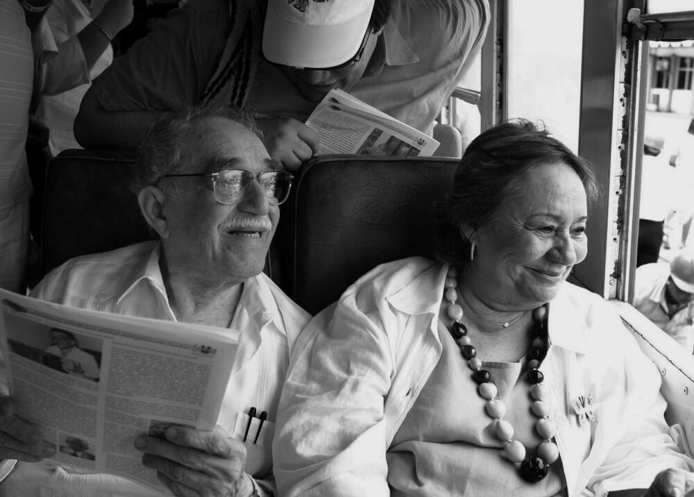 374371_BLU Radio. Mercedes Barcha y Gabriel García Marquez. Foto AFP