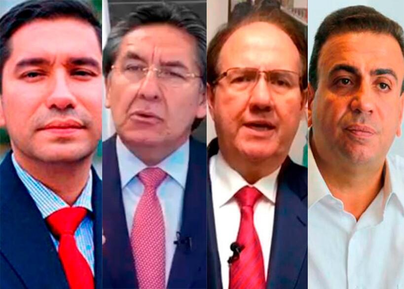 353450_Moreno, Martínez, Bustos y Besaile // Fotos: Suministradas