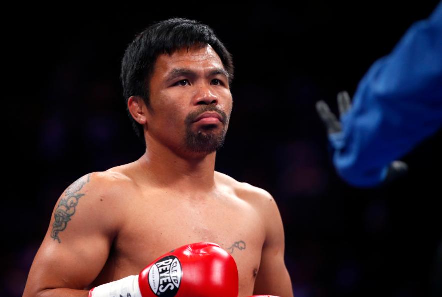 Manny Pacquiao, boxeador filipino.