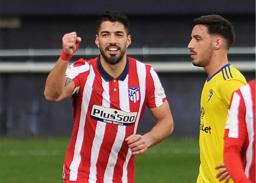 Luis Suarez Atlético de Madrid AFP