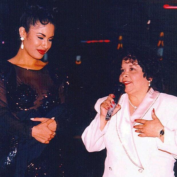 Yolanda Saldívar y Selena Quintanilla