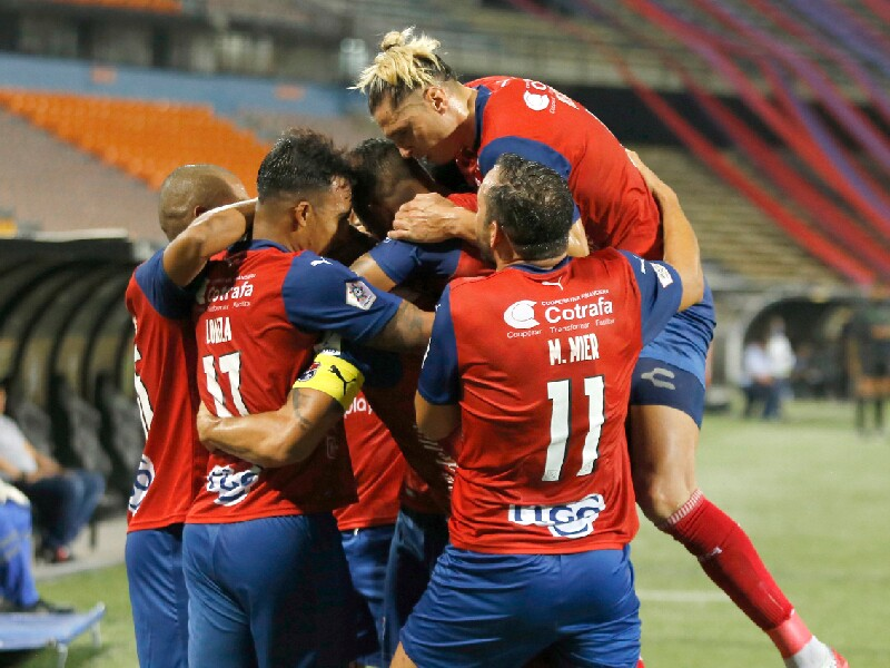 Medellín, celebra vs Jaguares