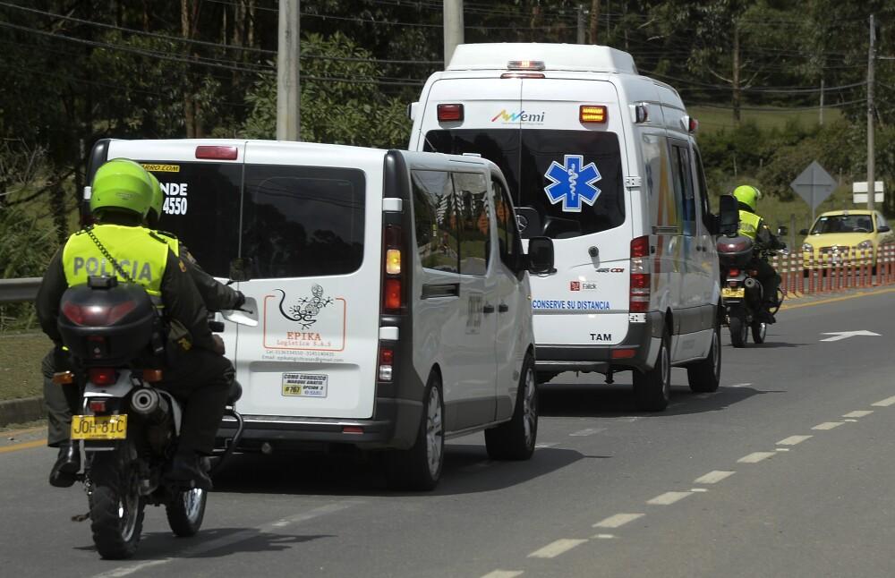 291961_BLU Radio. Ambulancia - referencia // Foto: AFP