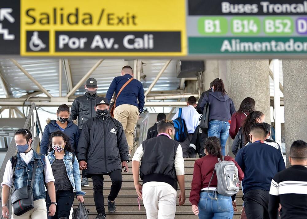 370579_Pandemia en Bogotá // Foto: AFP