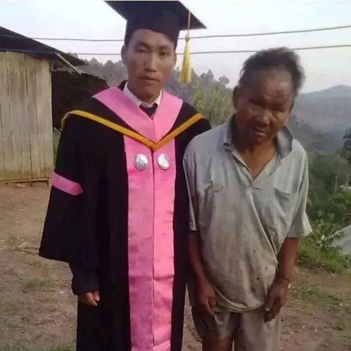 Padre tailandés