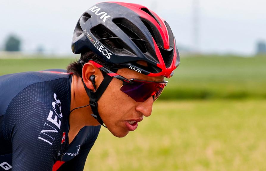 Egan Bernal es uno de los colombianos que disputa el Giro de Italia 2021.