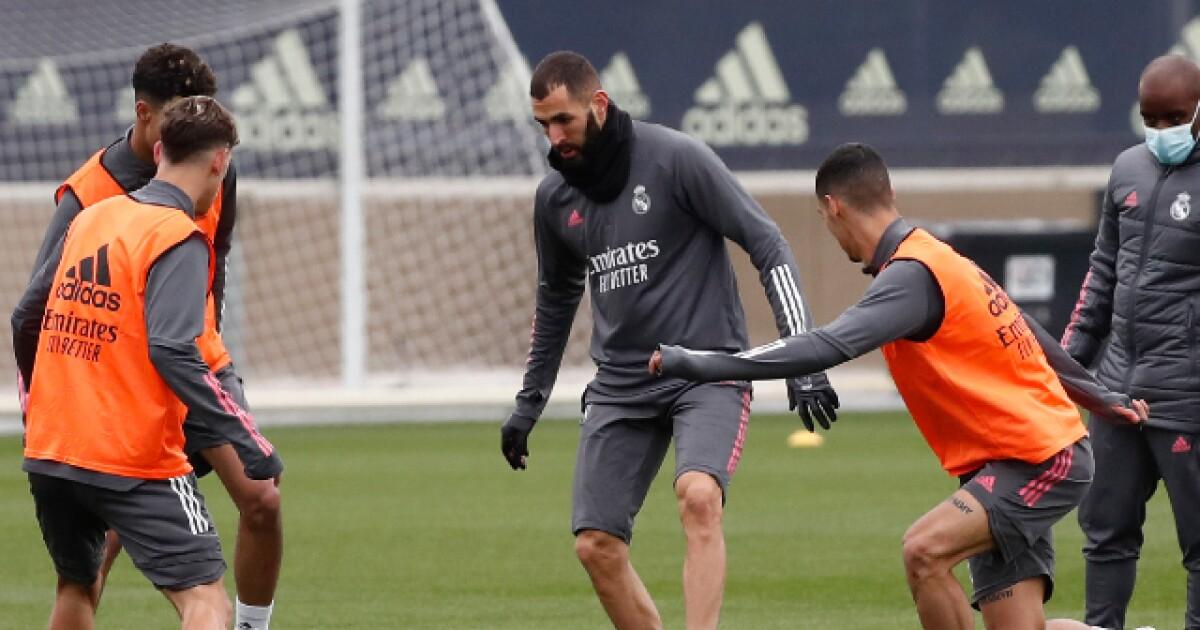 Novedades en el Real Madrid: Benzema ya entrenó, Ramos y Hazard están en duda