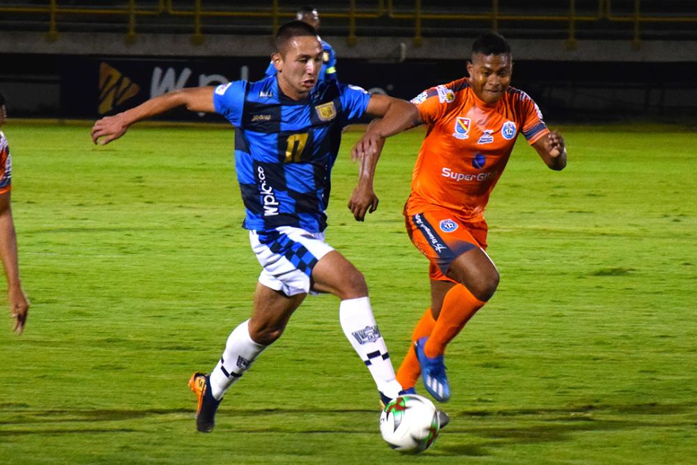Cristian Páez, jugador de Boyacá Chicó. Colprensa.png