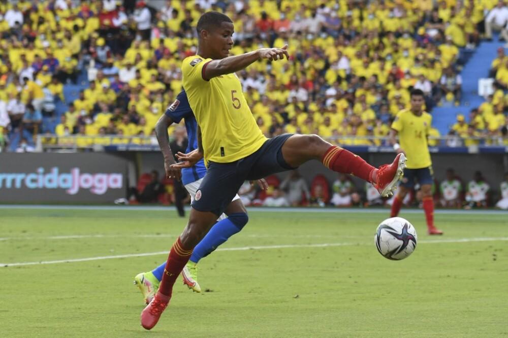 Wilmar Barrios - Colombia vs Brasil