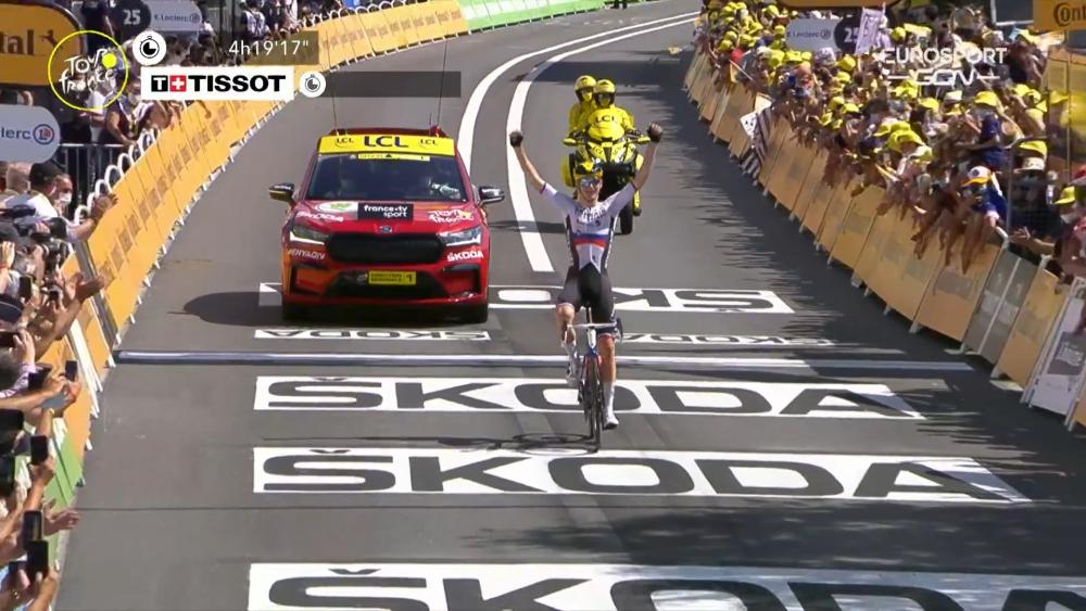 Mohoric ganó en solitario la etapa 19 del Tour de Francia 2021