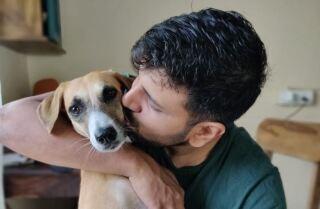 perro y amo cantan.JPG