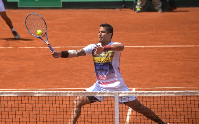 El tenista Roberto Maytín fue suspendido 14 años.