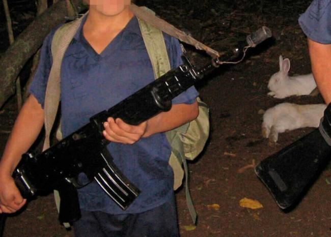 361607_Reclutamiento infantil / Foto / AFP / imagen de referencia