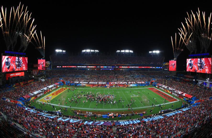 El Super Bowl se disputó en el Raymond James Stadium.