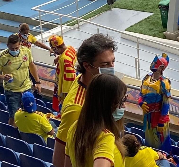 Daniel Quintero en el estadio de Barranquilla.jpg