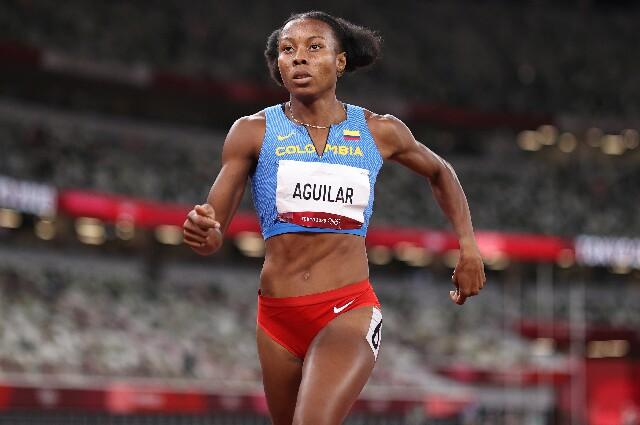 Evelis Aguilar, en los Juegos Olímpicos de Tokio 2020