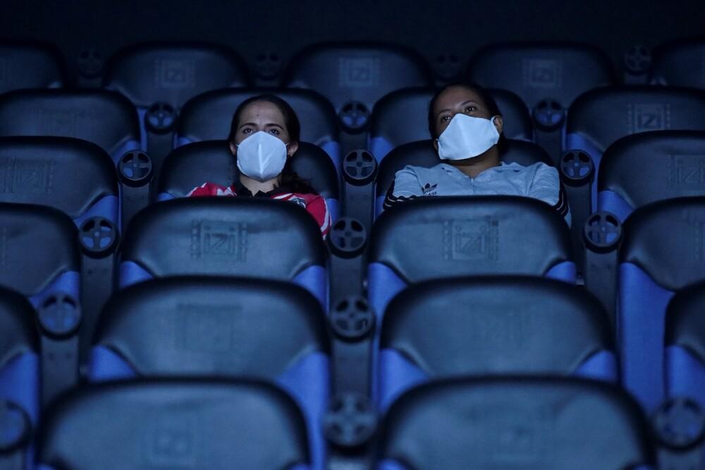 Sala de cine / AFP