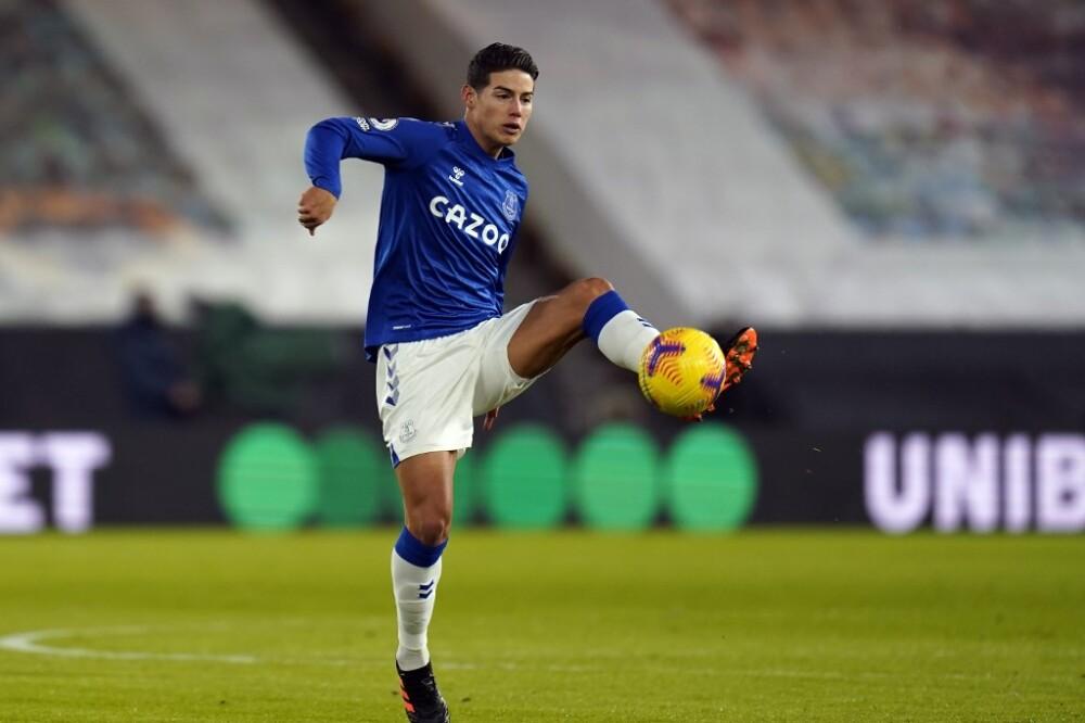 James Rodríguez, Everton vs Wolves