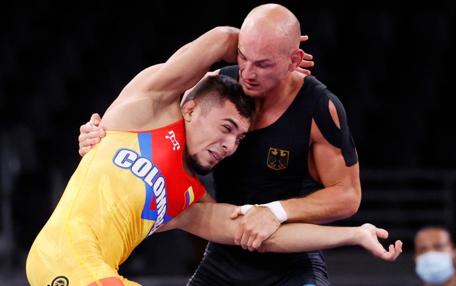 Julián Horta fue eliminado en la lucha grecorromana 67 kilogramos de los Juegos Olímpicos Tokio 2020.