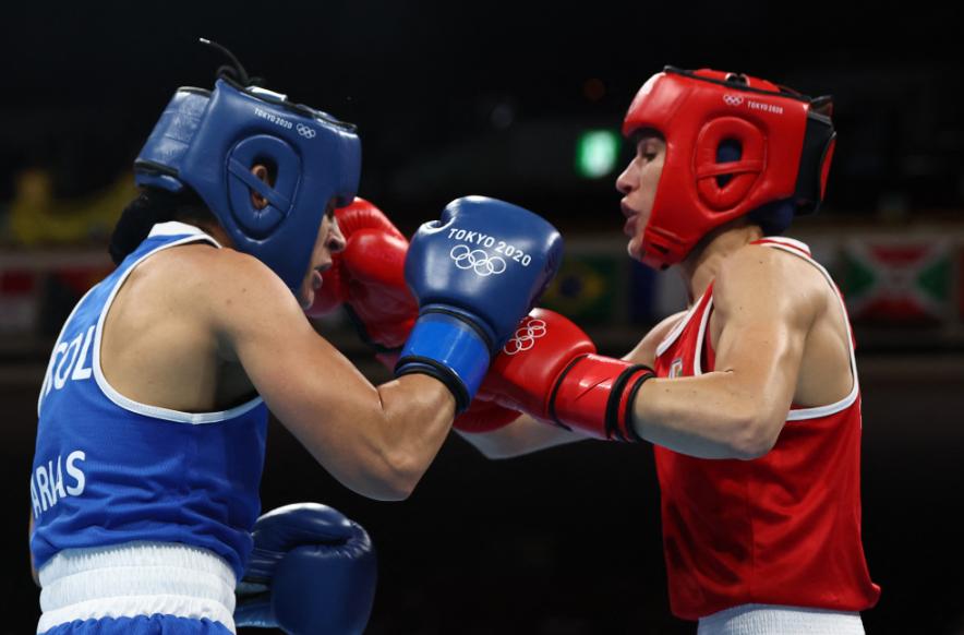 Jenny Arias debutó con triunfo en los Juegos Olímpicos de Tokio 2020.