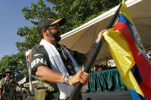 12793_BLU Radio. Alias 'Jorge 40' / Foto: AFP