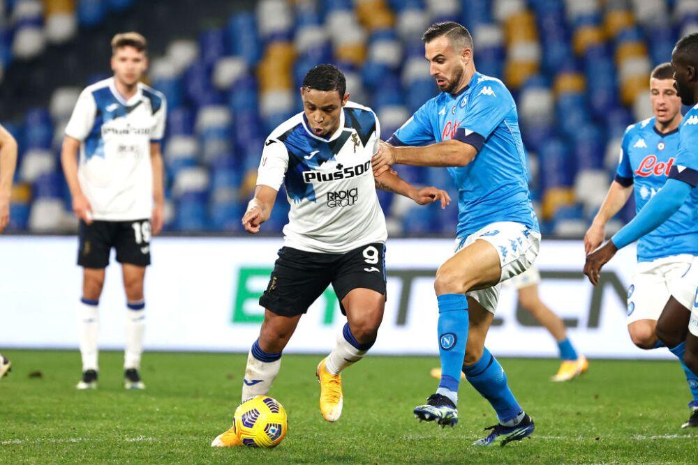 Luis Muriel, Atalanta vs Nápoles