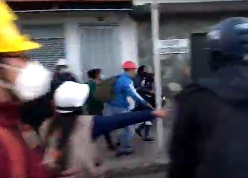niños afectados por disturbios en pasto nariño.jpg