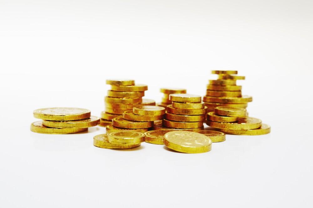 Monedas de oro - imagen de referencia