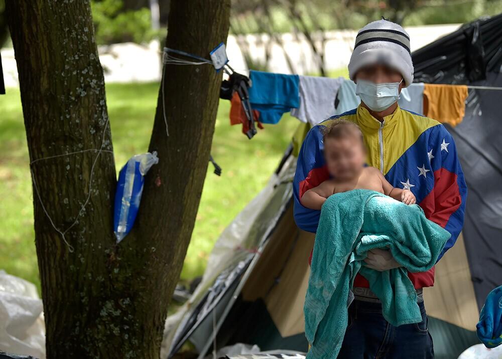 366946_Venezolanos en Colombia durante la pandemia // Foto: AFP