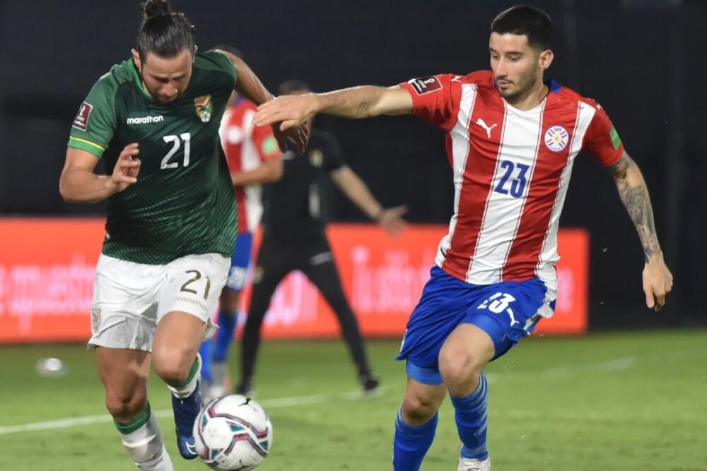 Paraguay vs Bolivia, 171120, AFP.