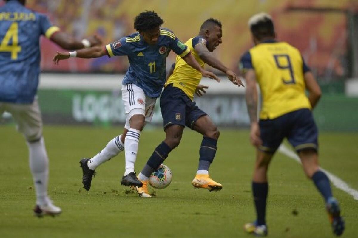 Ecuador 6 vs. Colombia 1: la 'tri' vapuleó al combinado patrio